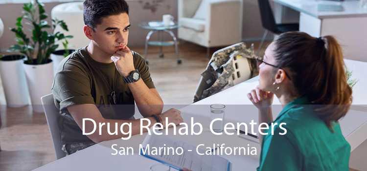 Drug Rehab Centers San Marino - California