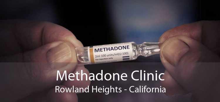 Methadone Clinic Rowland Heights - California